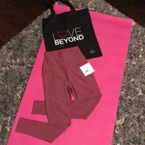 Beyond Yoga Spacedye Out Of Pocket High Waisted Midi Legging